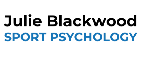 Julie Blackwood Sport Psychology Company Logo by Julie Blackwood in London England