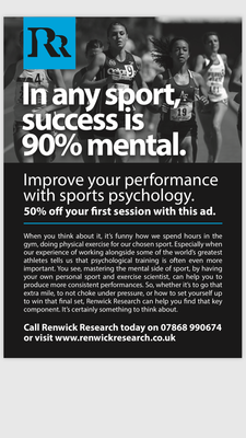 50% Off your first session